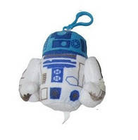 Мягкая игрушка-брелок Звёздные войны SB 16.60 Робот R2D2
