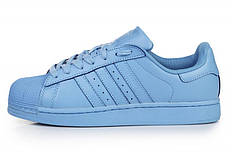 Мужские кроссовки Adidas Superstar Supercolor Light Blue bad7faa3844b5