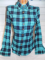 Рубашка женская 10109 оптом