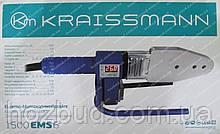 Паяльник для пластиковых труб KRAISSMANN 1500ЕMS6, цифровой