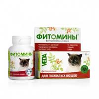 Фитомины для пожилых кошек Здоровое сердце 50 г