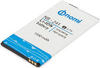 Аккумулятор акб ориг. к-во Nomi NB-244+ i244 Plus, 1000mAh сервисный оригинал