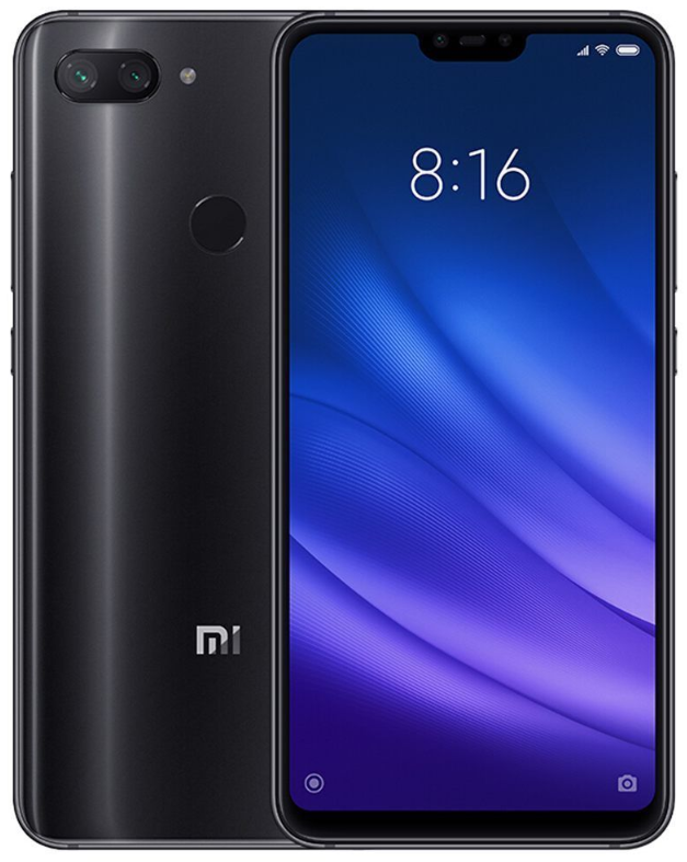 "Xiaomi Mi8 Lite Black 4/64 Gb, 6.26"", Snapdragon 660, 3G, 4G (Global)"