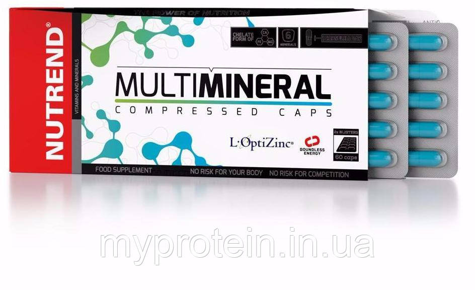 Nutrend Витамины и минералы MultiMineral 60 caps