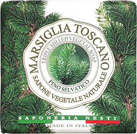 Мыло Nesti Dante Marsiglia Toscano Дикая Сосна 200г Pino Selvatico