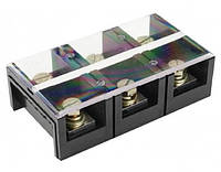 Клеммные блоки ТС-1503 (силовая клемма, Imax-150A, Umax-600V, 3 клеммных пары) (А)