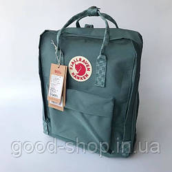 Спортивный рюкзак Fjallraven Kanken серого цвета (люкс копия)