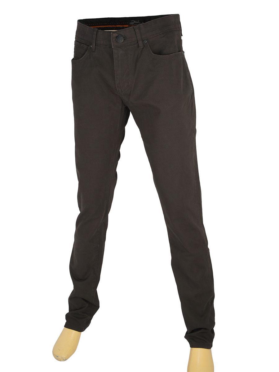 Коричневі чоловічі джинси X-Foot 261-7091 C: Kahve