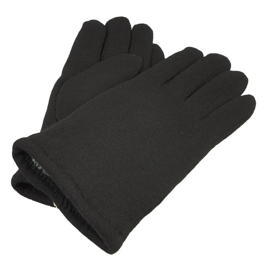 Чоловічі флісові рукавиці FADA black