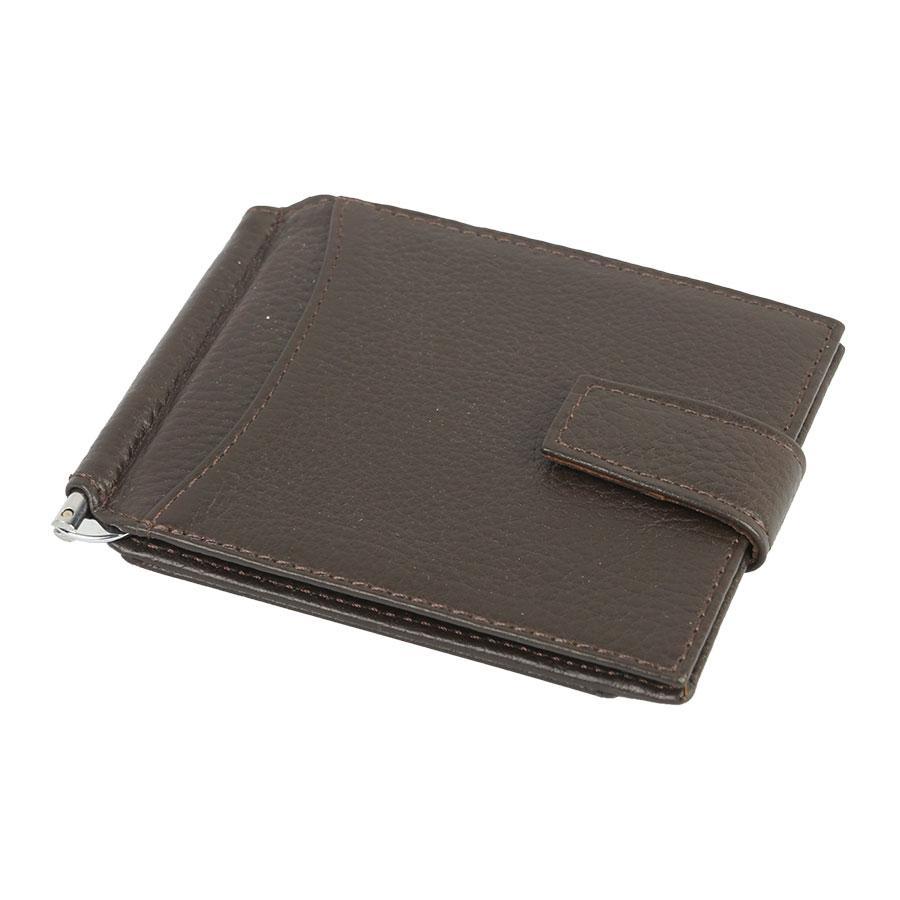Чоловічий зажим ($) Canpellini 076-14 коричневого кольору