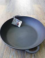Сковорода жаровня чугунная 300х60 мм.