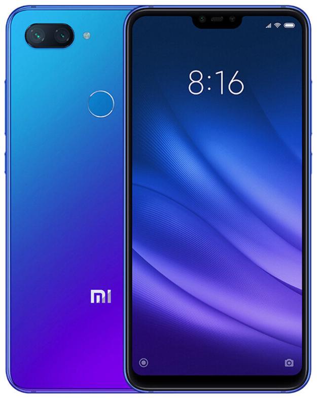 "Xiaomi Mi8 Lite Dream Blue 4/64 Gb, 6.26"", Snapdragon 660, 3G, 4G (Global)"