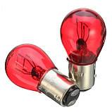 Лампа P21/5W (КРАСНАЯ)(12V), фото 3