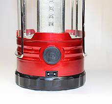 Фонарь светодиодный кемпинговый с солнечной панелью, 18LED, GSH-0999TC,походные фонари,светильники, фото 2