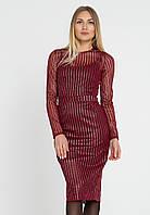 Платье LiLove 444 42-44 бордовый