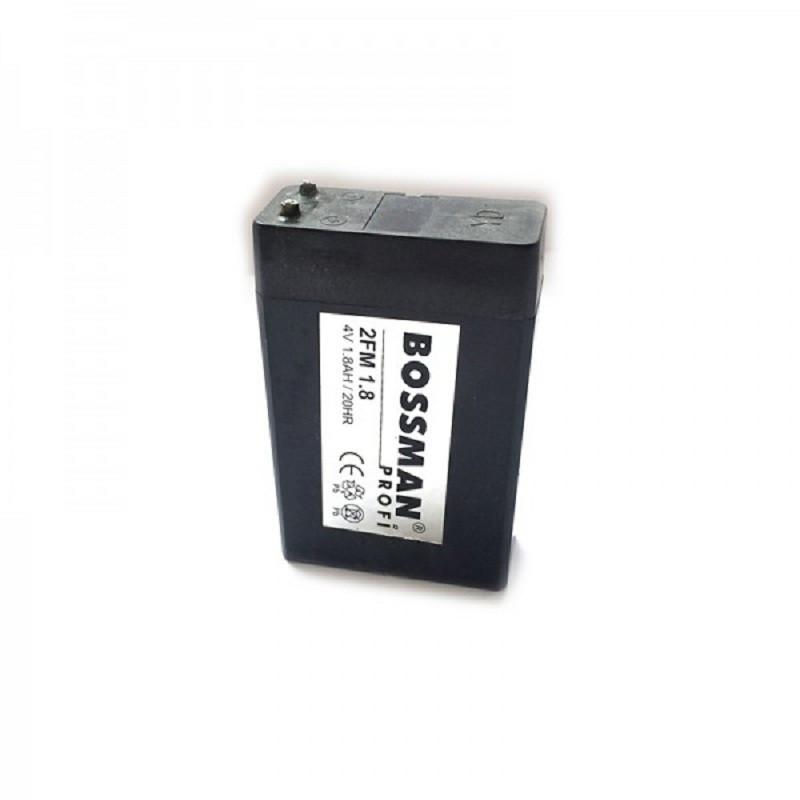 Bossman Profi LA 418 (4v/1.8Ah) 2FM1.8 (50*22*75mm) black