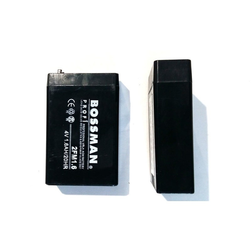 Аккумулятор Bossman 4V1,6Ah 2FM1.6
