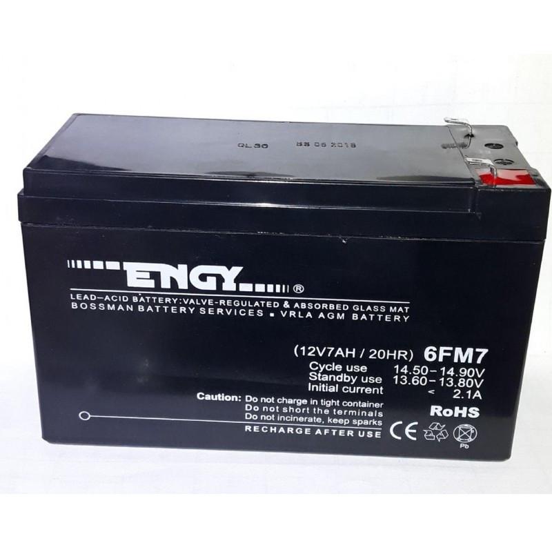 Аккумулятор ENGY (12v/7Ah) 6FM7 151x65x94+6mm