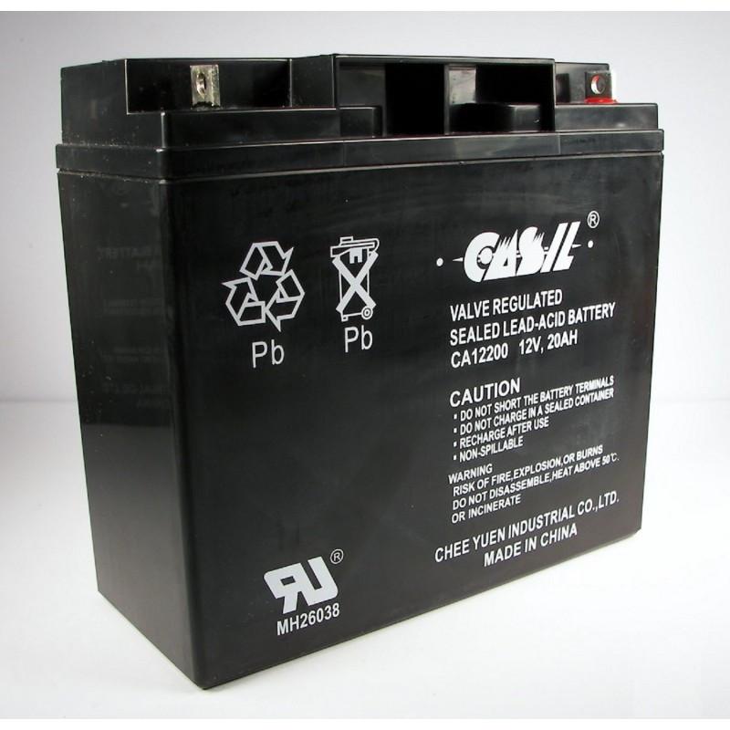 Аккумулятор CASIL СА12200 12V 20Ah