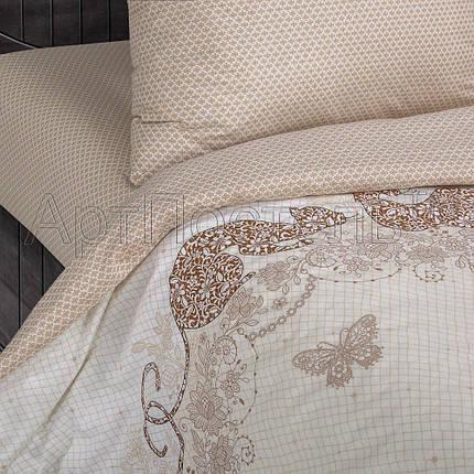 """Постельное белье Мери поплин  ТМ """"Комфорт-текстиль"""" (Евро), фото 2"""
