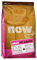 NOW Fresh Grain Free Adult Cat Recipe 31/18 Беззерновой для взрослых кошек с индейкой, уткой и лососем
