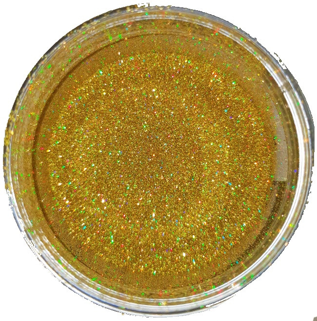 Галографическое золото 0.2мм, TL105-128