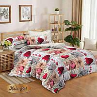Полуторный комплект постельного белья 150*220 сатин  TM КРИСПОЛ Украина для детей