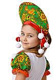 Детский карнавальный костюм для девочки  Матрешка 110-152р, фото 5