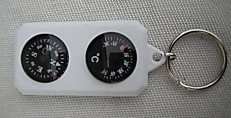 Компас с градусником Sol сувенирный (SLA-003), фото 2