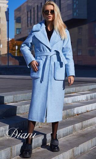 Зимнее пальто Размер 42-44, 46-48, Ткань шерсть. Цвета разные (21016)
