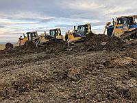 Очистка прудов бульдозером болотным