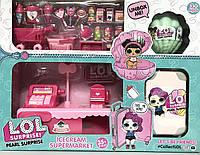 "Набор куклы LOL ""Магазин"" 2 куклы + кассовый аппарат"