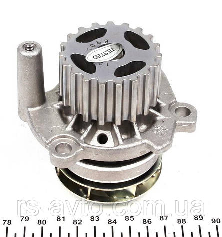 Помпа воды Volkswagen Caddy, Фольксваген Кадди, Crafter, T5 2.0tdi 10- PA1089, фото 2