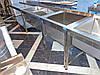 Ванна моечная промышленная для детского сада 1300/700/850 мм, глубина 400 мм
