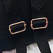 Рюкзак женский кожзам с кисточкой Fendi Бежевый, фото 7