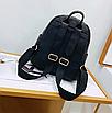Рюкзак женский кожзам с кисточкой Fendi Розовый, фото 5