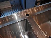 Ванна моечная промышленная для детского сада 1300/700/850 мм, глубина 400 мм, фото 3