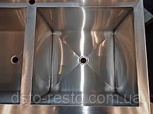 Ванна моечная промышленная для детского сада 1300/700/850 мм, глубина 400 мм, фото 2