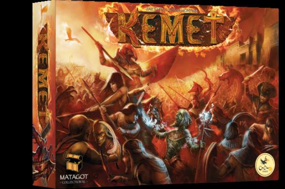 Настольная игра Кемет (Kemet)