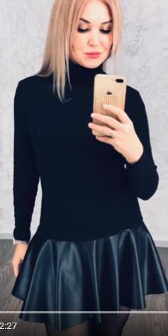 Подростковое платье Неля