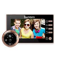 """Видеоглазок с датчиком движения Home Light G6 M 4,3"""" HD"""