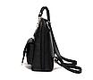 Рюкзак жіночий кожзам сумка Sweet Bear Червоний, фото 4