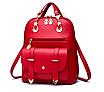 Рюкзак жіночий кожзам сумка Sweet Bear Червоний, фото 2