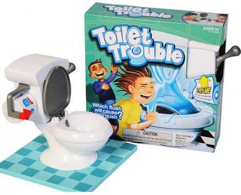 """Настольная игра челенж """"Toilet Trouble"""" (Туалетные неприятности)"""