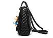 Рюкзак женский Sweet Bear стеганый сумка Синий, фото 3