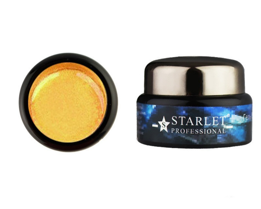 Гель-паутинка Starlet Professional №05, 5 г золото