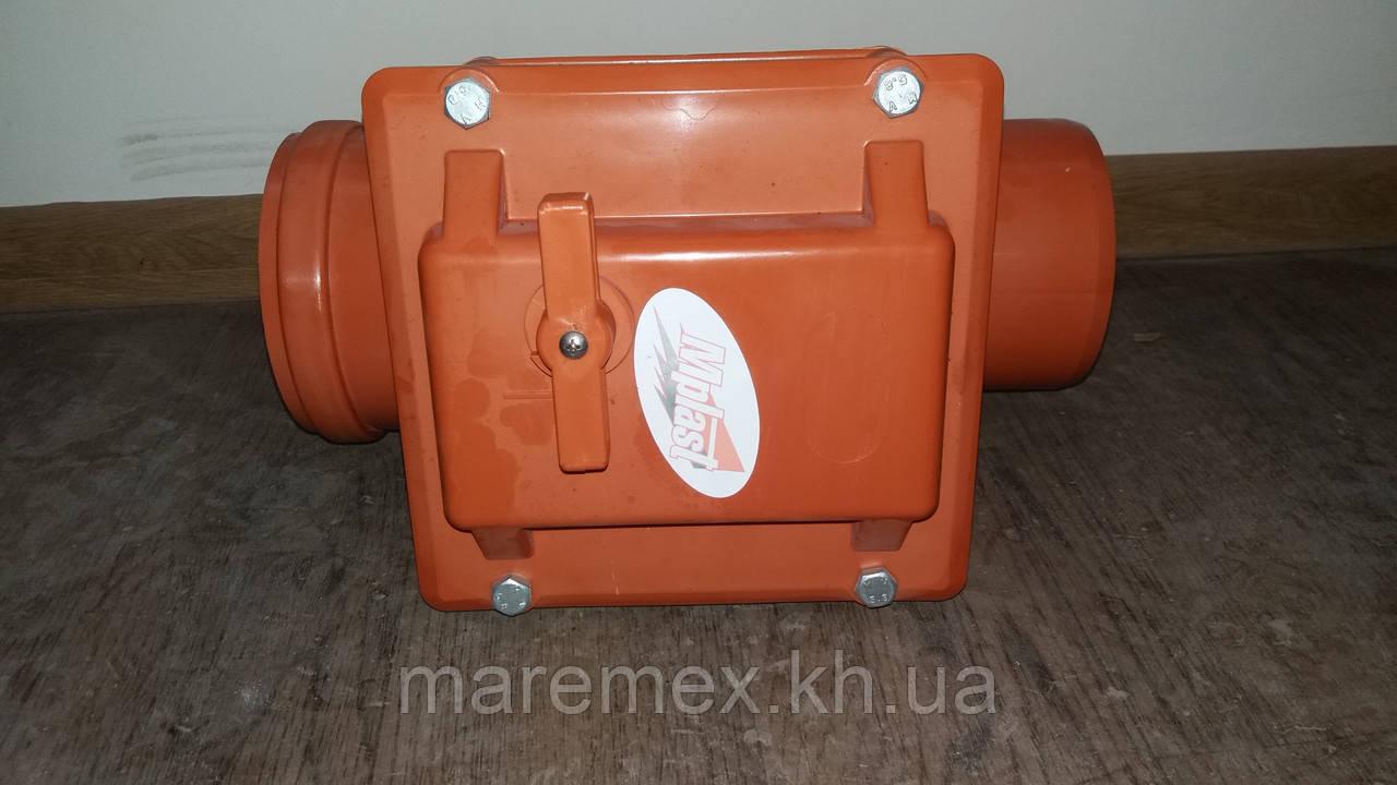 Клапан для канализации обратный д.110  - Мпласт