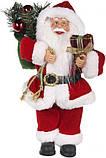 Дед Мороз красный 30 см, фото 2