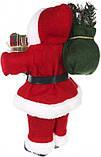 Дед Мороз красный 30 см, фото 4