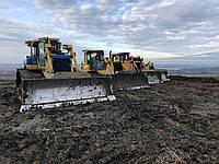 Земляные работы, устройство котлованов, водоемов бульдозером и экскаватором
